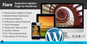 Flare Responsive Lightbox Plugin for WordPress