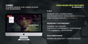 Jumbo WordPress Menu Plugin