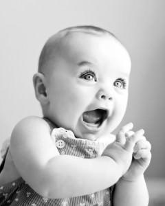 super happy baby